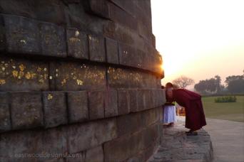 Buddhist shrine—Sarnath, India