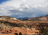 View from Rim Vista trail—near Abiquiu, New Mexico