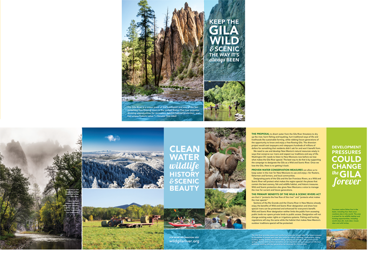 Gila River brochure